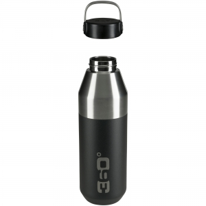 360 DEGREES Butelka Vacuum Insulated Stainless Narrow Mouth Bottle (czarny) (360D10101/1)