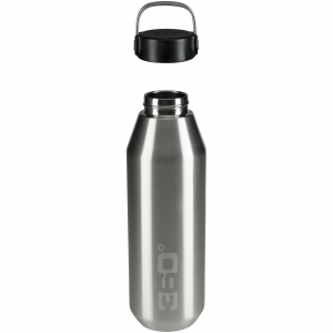 360 DEGREES Butelka Vacuum Insulated Stainless Narrow Mouth Bottle (stalowy) (360D10101/4)