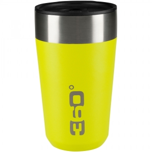 360 DEGREES Kubek Vacuum Insulated Stainless Travel Mug (limonkowy) (360D10103/2)