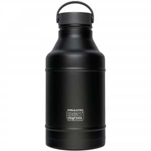360 DEGREES Butelka Vacuum Insulated Growler (czarny) (360D10104/1)