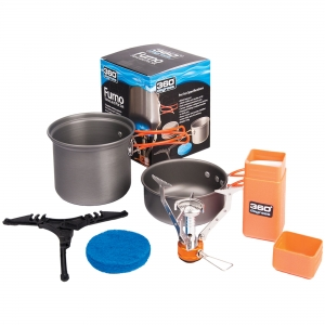 360 DEGREES Zestaw 360 Furno Stove and Pot Set (360D10106)