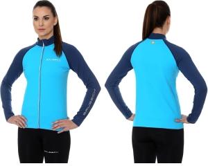 a84731f0877a43 BRUBECK Bluza termoaktywna damska Athletic 2nd Layer (niebieski) (LS13520)