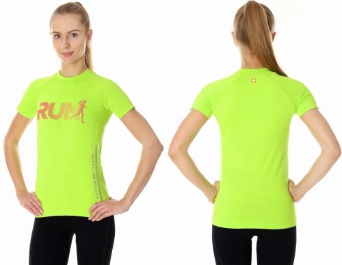 365550b23857e7 Brubeck koszulka termoaktywna damska running air pro (neon) (ss13270 ...