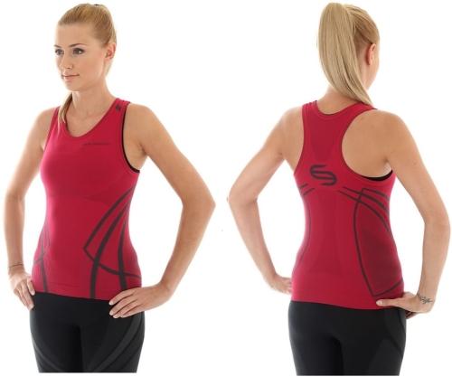 ddb50ed2ebf8bf Brubeck koszulka termoaktywna damska finess (rubin) (ta10150) sklep ...