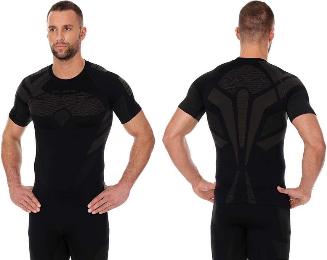 7c6910fe4f45fc BRUBECK Koszulka termoaktywna męska Dry (czarny) (SS11970).  sport-system.com.pl. sport-system.com.pl ...